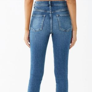 Forever 21 High Rise Medium Wash Jeans
